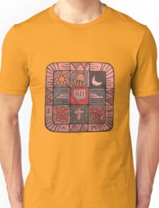 Mosaic Spirit illustration Unisex T-Shirt
