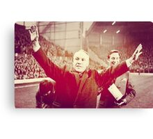 Bill Shankly Canvas Print