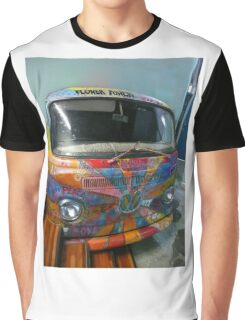Hippie Van Graphic T-Shirt
