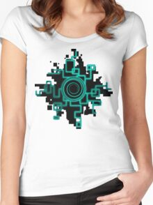 Zelda Green Twilight Portal Women's Fitted Scoop T-Shirt