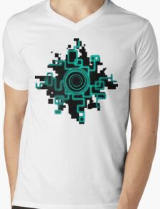 Zelda Green Twilight Portal Mens V-Neck T-Shirt