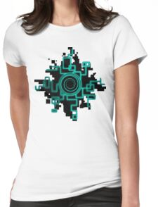 Zelda Green Twilight Portal Womens Fitted T-Shirt