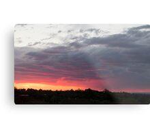 Vibrant Sunset Metal Print