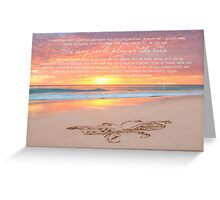 Beautiful Messages Greeting Card