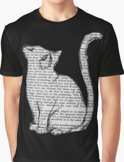 books and cats and books and cats Graphic T-Shirt