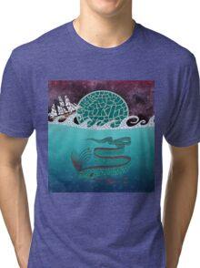 Ore Fish Mosaic Tri-blend T-Shirt