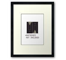 Miscellaneous - batteries not included Framed Print