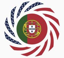 Portuguese American Multinational Patriot Flag Series Kids Clothes