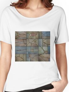 Zen Natural Paving Stones  Women's Relaxed Fit T-Shirt