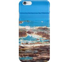 Whale watching at the rock pools iPhone Case/Skin