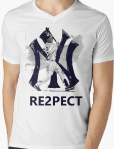 RE2PECT Mens V-Neck T-Shirt