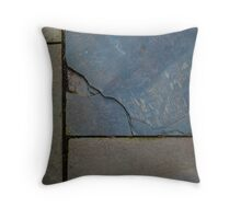 Zen Natural Paving Stones Throw Pillow