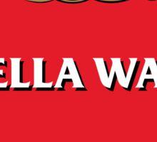 STELLA WARS Sticker