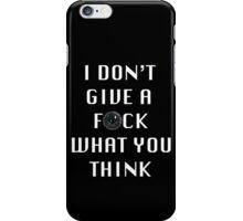 Thug City IDGAFWYT iPhone Case/Skin
