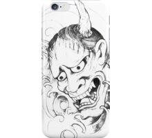 oni sketch iPhone Case/Skin