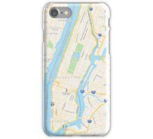 Manhattan/NYC Map iPhone Case/Skin