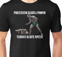 Conor McGregor Precision Beats Power Timing Beats Speed Unisex T-Shirt