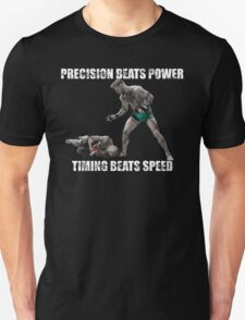 Conor McGregor Precision Beats Power Timing Beats Speed T-Shirt