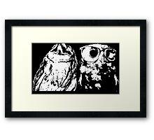 Wise Guys Framed Print