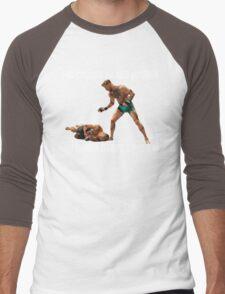 Conor McGregor Knocks Out Jose Aldo Men's Baseball ¾ T-Shirt