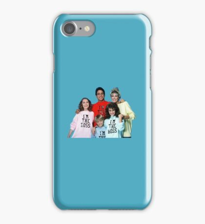 Who's The Boss iPhone Case/Skin