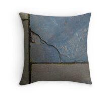 Natural Cut Paving Stones Throw Pillow