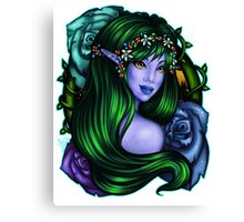 Elven Rose Canvas Print