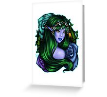 Elven Rose Greeting Card