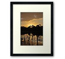 A Touch of Glory Framed Print