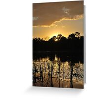 A Touch of Glory Greeting Card