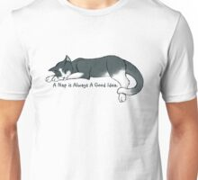Napping Kitty Unisex T-Shirt