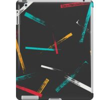 Grunge brush strokes pattern iPad Case/Skin
