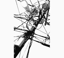 Lamp Post & Power Lines Unisex T-Shirt