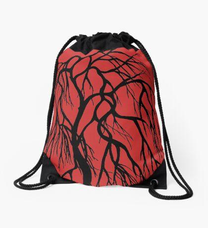 Winter Tree  Drawstring Bag