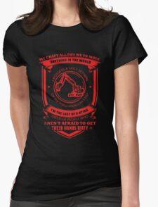 Heavy Equipment Operator T-shirt Womens Fitted T-Shirt