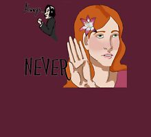 Always/Never Lily Evans Potter Womens Fitted T-Shirt