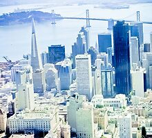 Urban Dimensions SF View  by David  Perea