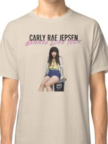 CARLY RAE JEPSEN GIMME LOVE TOUR 2016 Classic T-Shirt