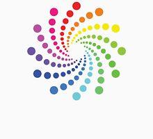 Circular Spectrum Pattern Unisex T-Shirt