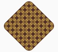 Javanese Batik Kawung Oval Diamond Chain One Piece - Short Sleeve
