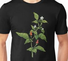 Chilly plant (Pen, Ink and Watercolour) Unisex T-Shirt