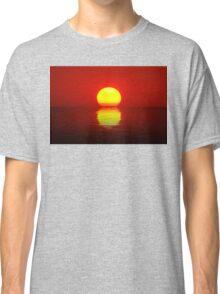 Egg Yolk Sunset Classic T-Shirt