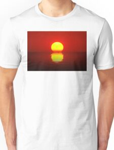 Egg Yolk Sunset Unisex T-Shirt