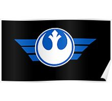 Star Wars Resistance logo Poster