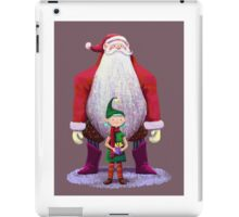 Santa & elf iPad Case/Skin