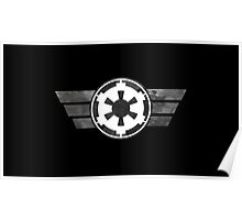 Galactic Empire Logo Poster