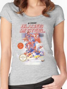 Blades of Steel Women's Fitted Scoop T-Shirt