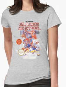 Blades of Steel Womens Fitted T-Shirt