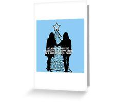 Believe in Happy Endings Greeting Card