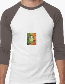 Leaves Ganesha Men's Baseball ¾ T-Shirt
